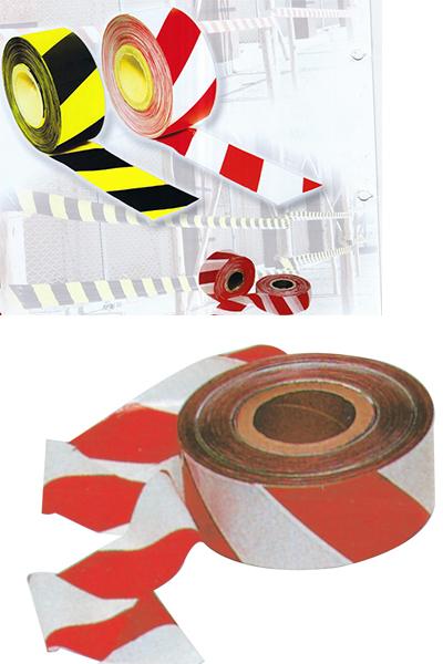 Bariyer-Sarı Siyah-Kırmızı Beyaz Bant Emniyet Şeritleri